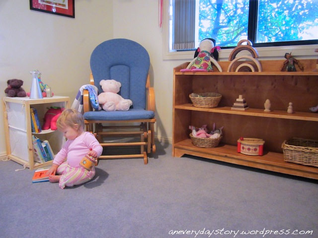 Sarah 39 S Place A Montessori Inspired Bedroom