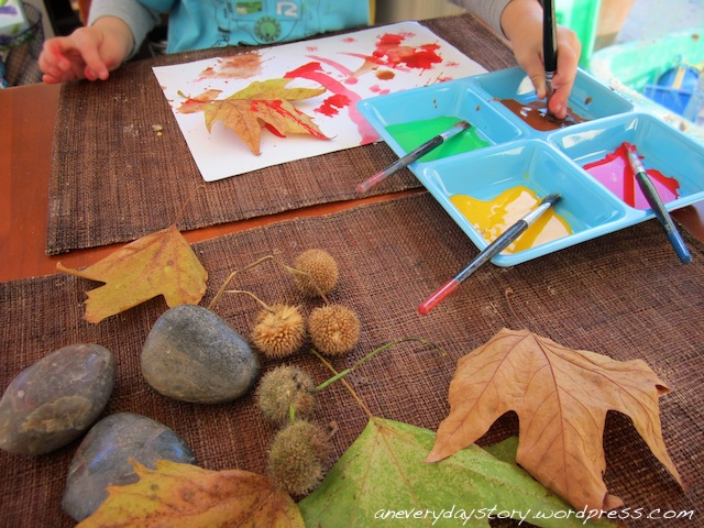 Autumn Leaves Project: Observational Art