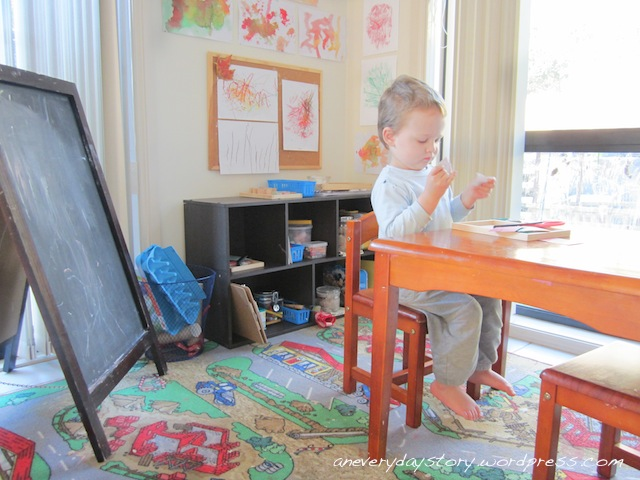 A Mini Atelier: Rotating the Art Activities