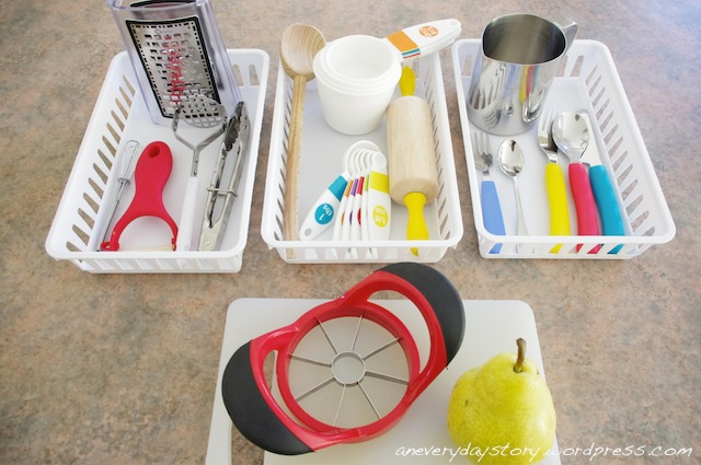 Montessori in the Kitchen: Child-sized Utensils