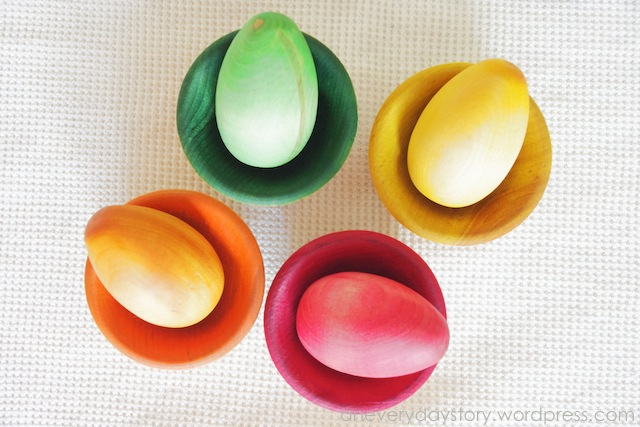 Colour Sorting: Eggs and Cups