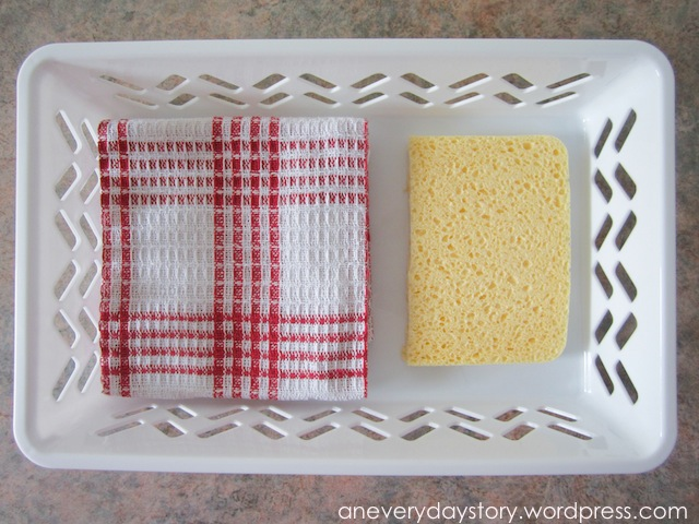 Montessori: Practical Life – Learning to Clean Up at theTable