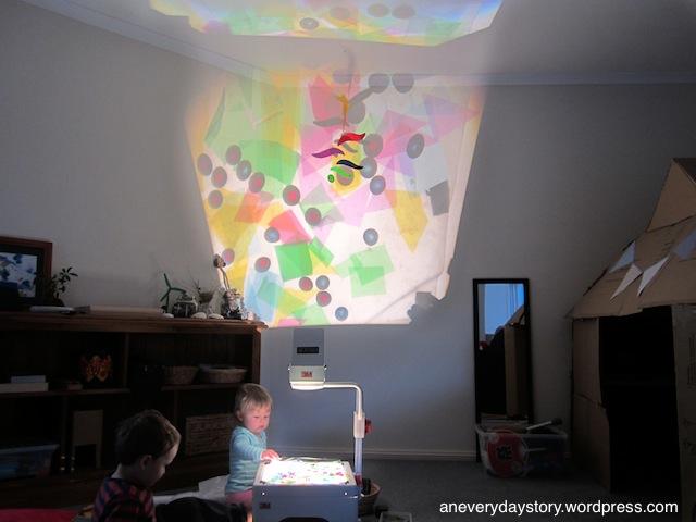 Reggio: A Colour and LightCollage