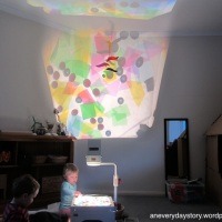 Reggio: A Colour and Light Collage