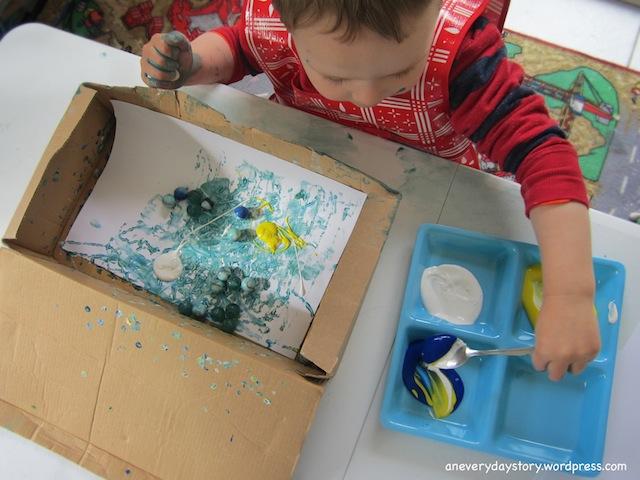 Shake Painting
