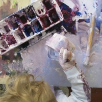 Painting with Toddlers: It's only mess in our eyes