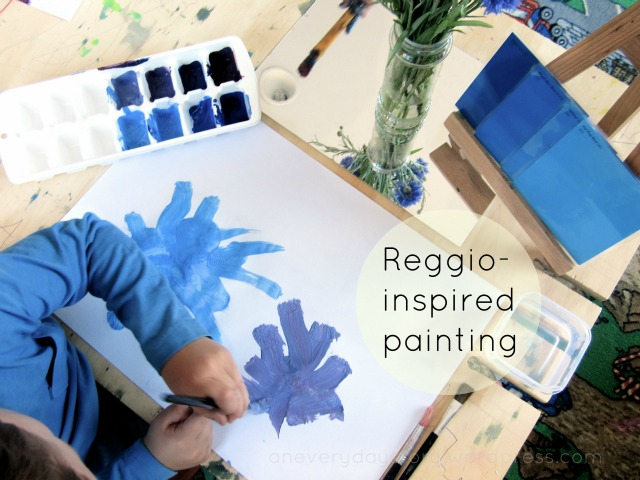 Setting up a Reggio-inspired Painting Activity atHome