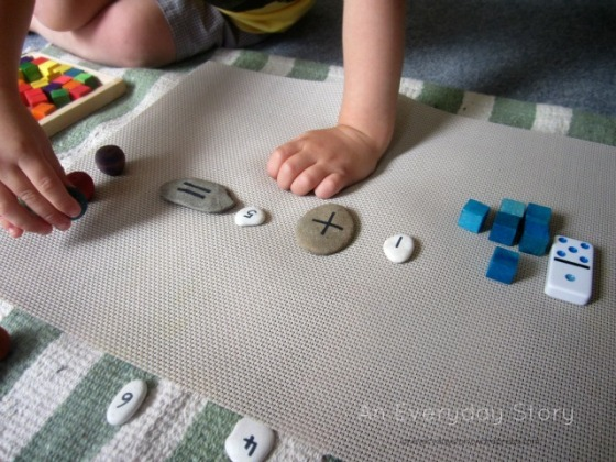 Reggio Math - hands on learning