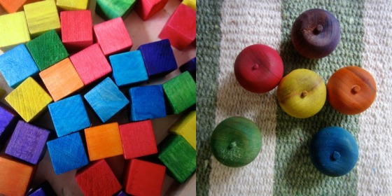 Reggio Math materials - An Everyday Story