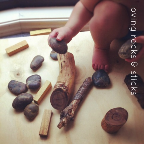 rocks and sticks {An Everyday Story}