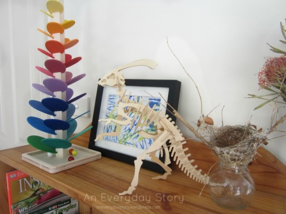 Displaying materials in a Reggio playroom - An Everyday Story