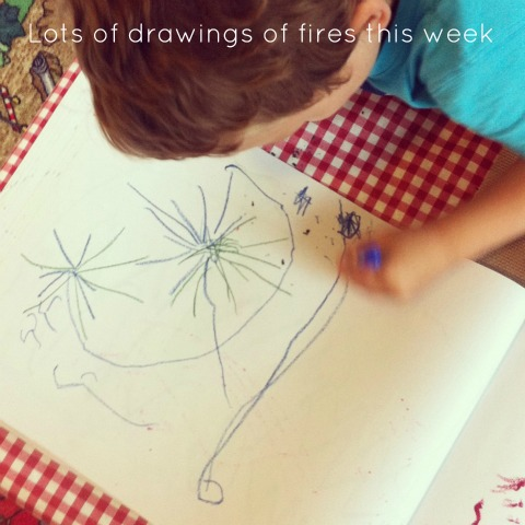 Drawing fire - An Everyday Story