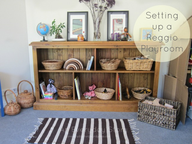 How to set up a Reggio playroom - An Everyday Story