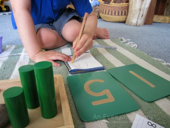 Learning to Measure - Recording numbers - An Everyday Story