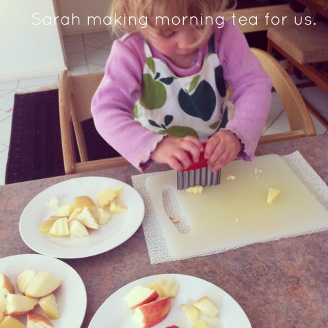 Making morning tea - An Everyday Story
