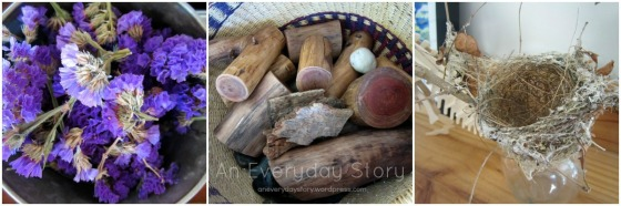 Natural materials in a Reggio playroom - An Everyday Story