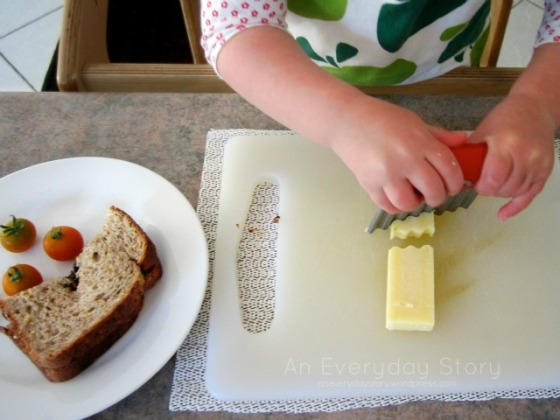 Our Family Rhythm - Making Lunch - An Everyday Story