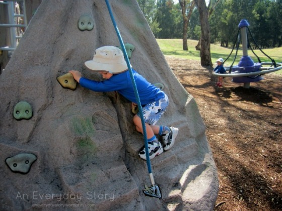 Our Family Rhythm - Spending time outside - An Everyday Story