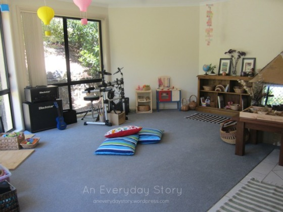 Reggio playroom from An Everyday Story