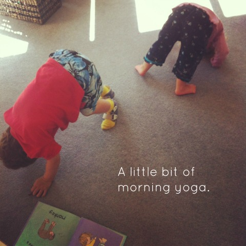 Yoga for toddlers - An Everyday Story
