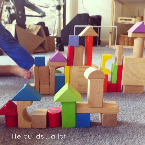 Building with blocks - An Everyday Story