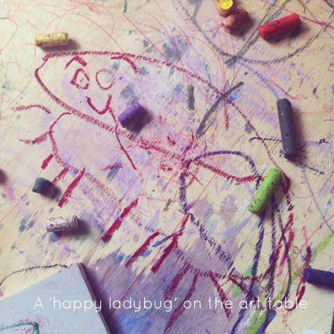 Children's free expressive art - An Everyday Story