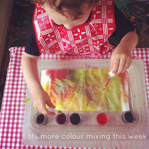 colour mixing - An Everyday Story