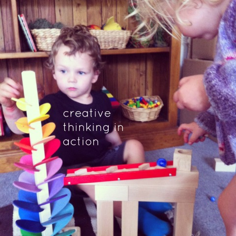 creative thinking through play - An Everyday Story