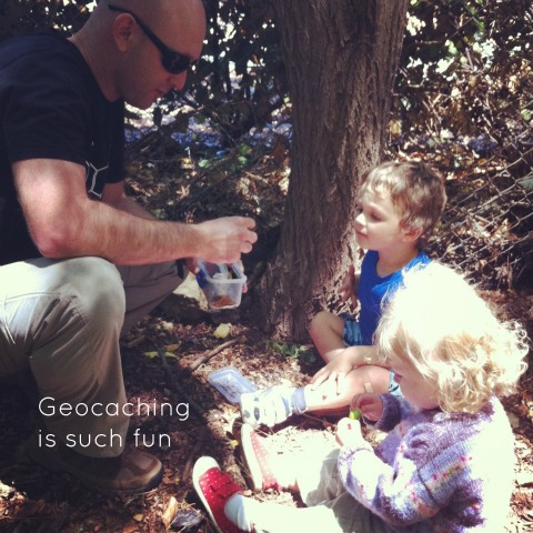 Geocaching - exploring the treasures - An Everyday Story