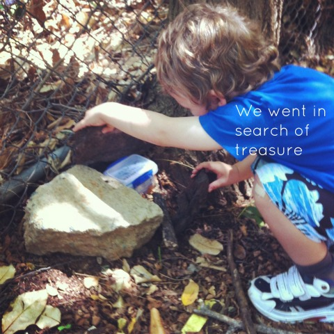 Geocaching with preschoolers - An Everyday Story