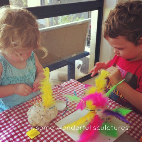 Playing with playdough - An Everyday Story