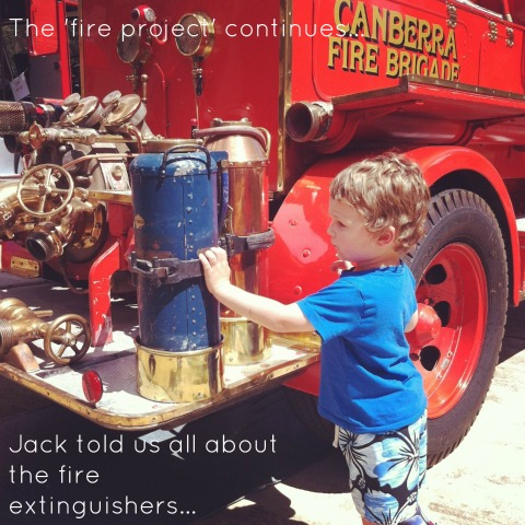 Project based learning - The Fire Project - An Everyday Story