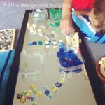 Reggio Activities - Exploring design with mirrors and loose parts - An Everyday Story