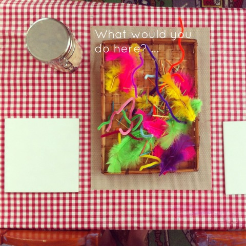 Reggio Activities - Playdough provocation - An Everyday Story