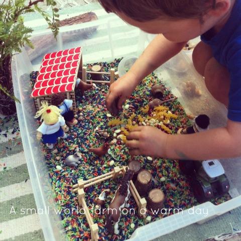 Small world play - farm - An Everyday Story