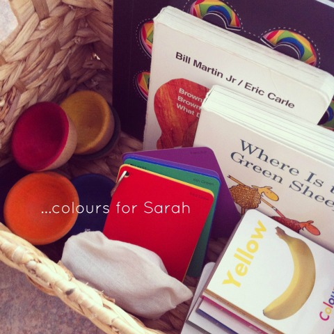 Theme baskets - colours An Everyday Story