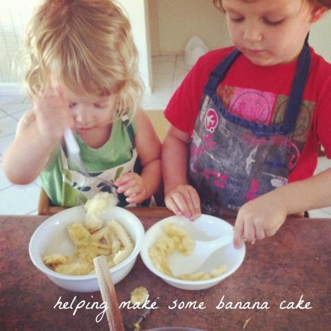Mashing banana - An Everyday StoryMashing banana - An Everyday Story