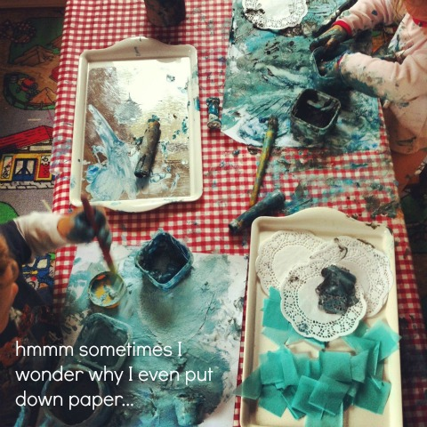 Messy painting - An Everyday Story
