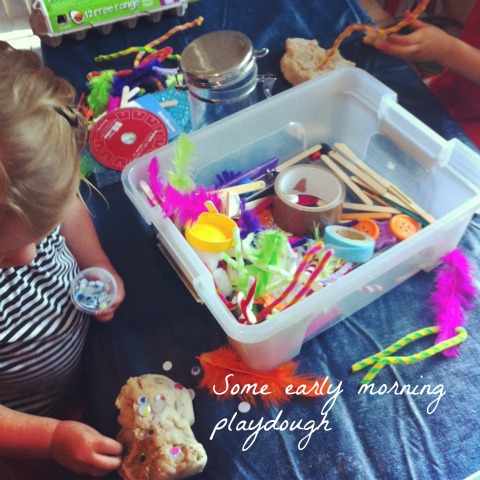Playdough - An Everyday Story