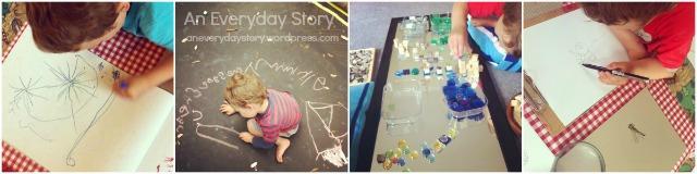 Preschool homeschool - An Everyday Story