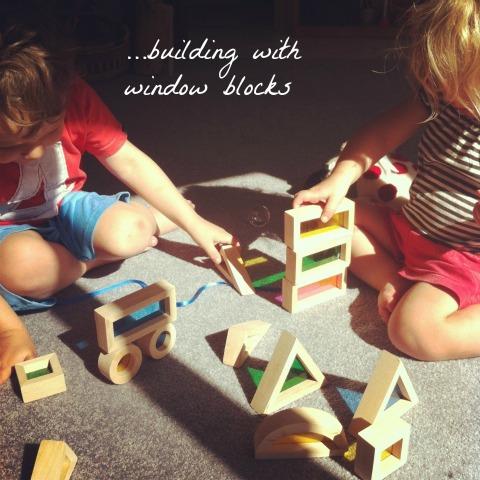 Window blocks - An Everyday Story